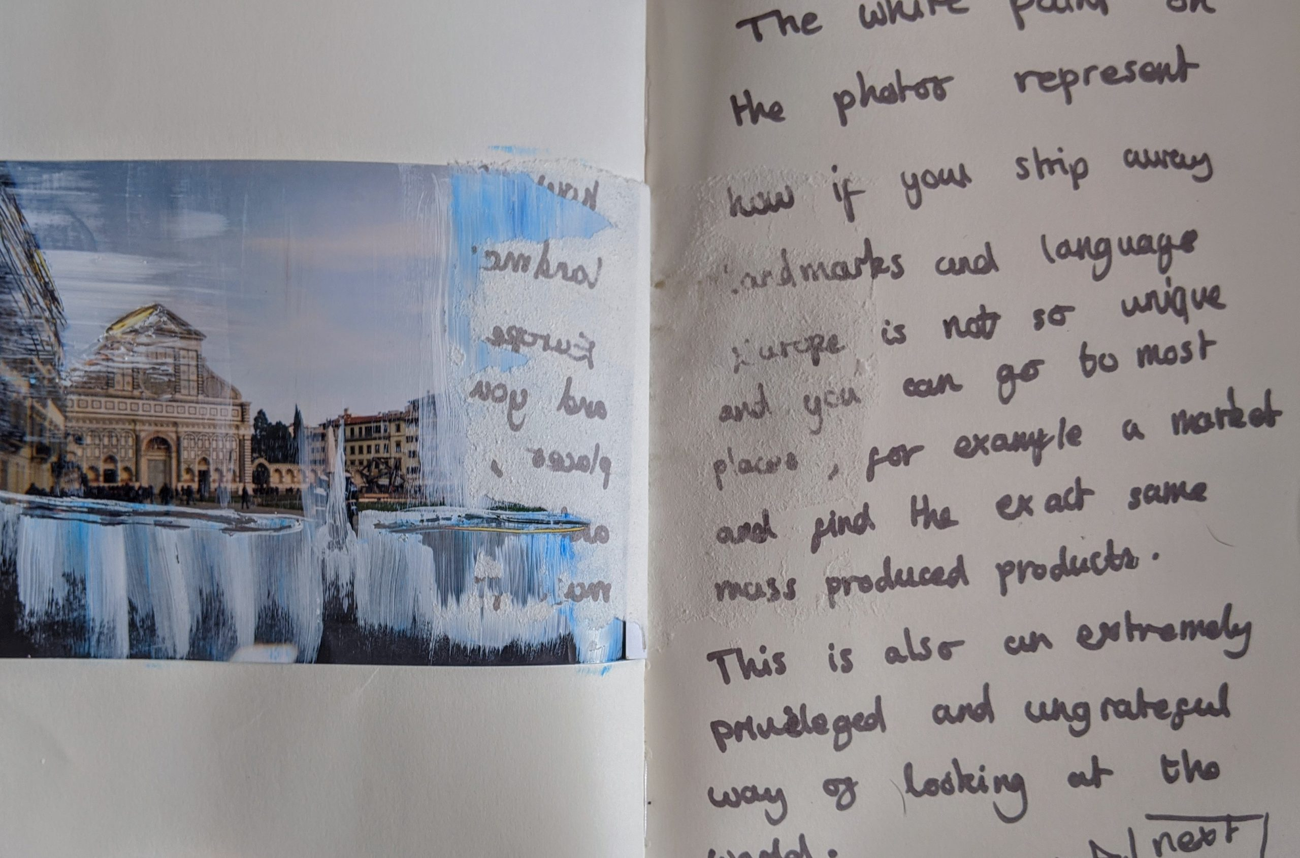 Italy Project – Sketchbook